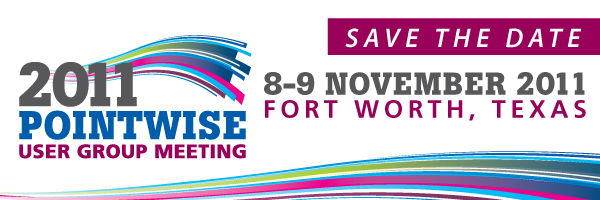 Pointwise UGM 2011 in Fort Worth on Nov. 8-9