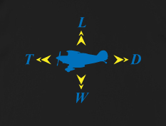 Would you where this on a shirt shirt? If so, Engineering Clothing has a lot of Aerospace Engineering t-shirts for you. (Click image to go to their website.)