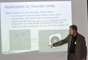 Pointwise's Dr. John Steinbrenner describes a PDE-based approach to overlap remediation in overset grids.