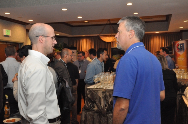 Opening reception from the last Pointwise UGM.