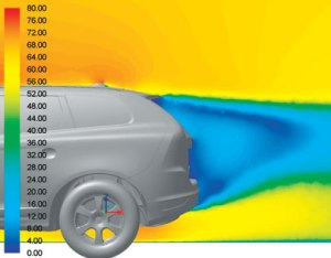 ANSYS CFD solution as it appeared in Businesweek.