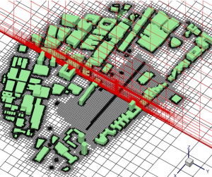The MIT campus meshed to a 1 m resolution. Image from the paper cited below.