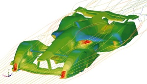 SC/Tetra was used to compute the aerodynamic performance of vehicles in the video game Grand Turismo 6. See the link below.