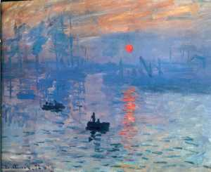 Claude Monet, Impression Sunrise, 1873
