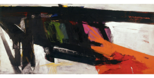 Franz Kline, Orange and Black Wall