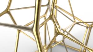 3D Voronoi structure by Michiel Cornelissen