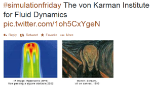 This tweet from #SimulationFriday made the art lover in me very happy. I cannot find the original image source. (If you're on Twitter you need to follow the #SimulationFriday hashtag.)