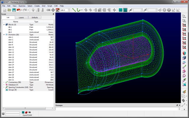 The Pointwise user interface in all its glory. Commonly used actions are only a click away.