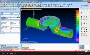 Take 10 minutes for a video demonstration of CFD in Femap. Click image for video.
