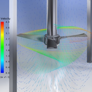 Use of ANSYS for mixing simulations is the subject of an article on the Leap CFD blog. Click image for article.