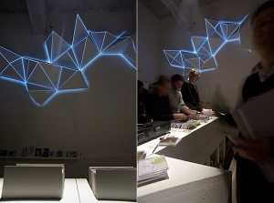 Light Sculpture by artist group Antivj. Click image for source.