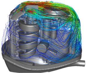 A profile of CFD work at Mercury Marine. Image from Resolved Analytics. Click image for article.