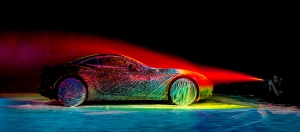 Fabien Oefner, Ferrari California T. Image from PetaPixel. See link above.