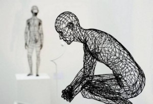 Moto Waganari, 3D printed sculpture. Image from Visual News.