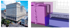Meshing an urban environment. Image from the reported cited above.