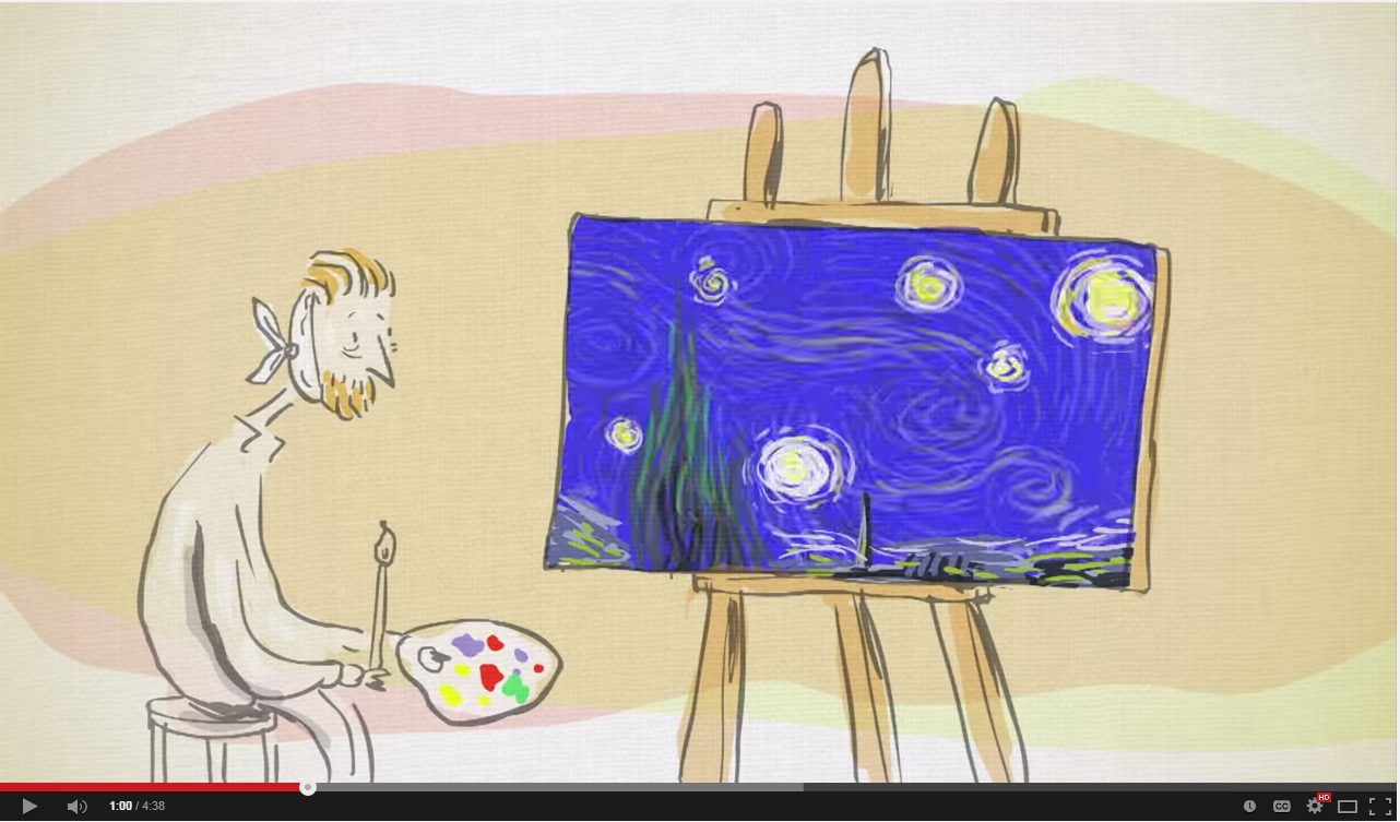 an analysis of van goghs starry night This essay starry night by vincent van gogh and other  the analysis of this formation is wide and full of variety van gogh painted starry night while in an asylum.