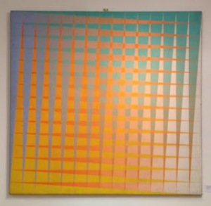 Peter Schmidt, Intersecting Triangles, 1971. Image from The Peter Schmidt Blog. Click image for link.