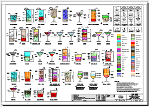 The Engineers Guide to Drinks. Drawn in AutoCAD. Image from Between the Lines blog. See links above.