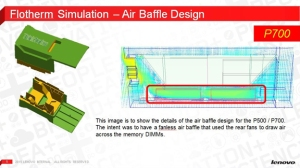 Lenovo used FloTHERM to simulate cooling inside their ThinkStation products. Image from Desktop Engineering. Click image for article.