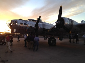 B-17G at the Commemorative Air Force's Arizona Wing. Climbing through this beautiful aircraft was quite an experience.