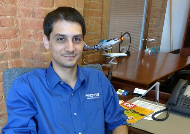 Travis Carrigan, Senior Engineer on the Sales & Marketing team.