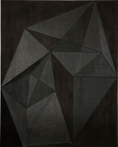 Victoria Haven, Black Frames, 2014. Image from New American Paintings. Click image for source.
