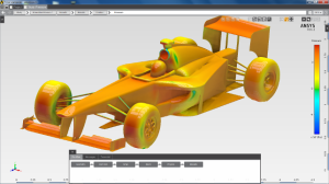 DEVELOP3D reviewed ANSYS AIM 16.1 for multiphysics simulation. Image from DEVELOP3D. Click image for article.