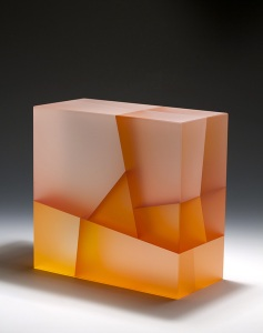 Jiyong Lee, White Axial Cuboid Biaxial Segmentation, 2014. Image from the artist's website. See link above.