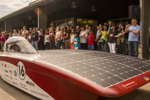 We at Pointwise love working with students and Stanford's Solar Car is one great example of why. Image from The Stanford Daily. Click image for article.