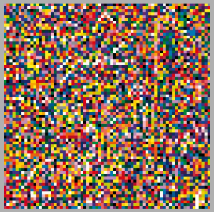 Gerhard Richter, 4900 Colours, 2007. Image from the artist's website. See link above.