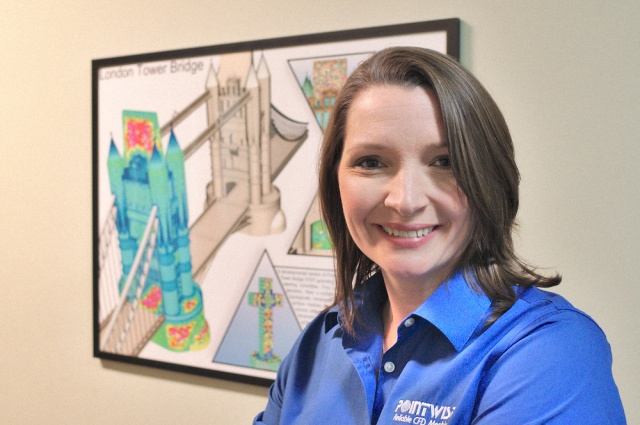 Carolyn Woeber, Manager of the Technical Support Team.