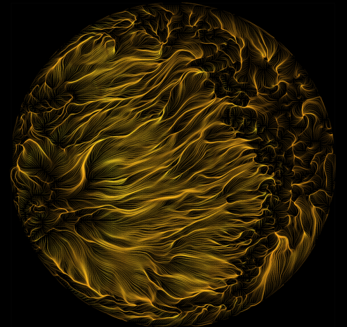 Simulation of Rayleigh-Benard Convection. Image from FYFD. Click image for article.