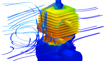Red Bull Racing describes their use of ANSYS' CFD Technology. Image from themanufacturer.com. Click image for article.