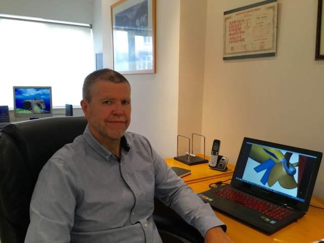 John Stone of CFD Technologies.