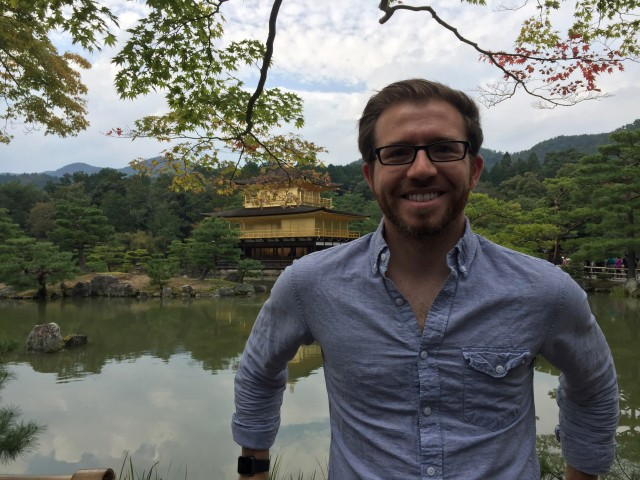 In my last episode, I recapped my adventure through Japan with the Pointwise team for the VINAS Users Conference 2015 last fall. I couldn't pass up the opportunity to reuse the picture that Rick Matus took of me while visiting Kinkaku-ji (Temple of the Golden Pavilion) in Kyoto, Japan.