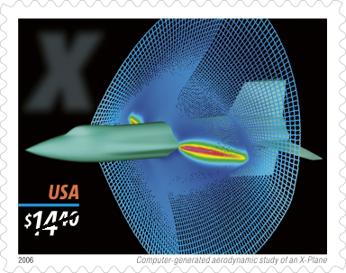 Gratuitous grid picture. Remember when CFD and a Gridgen grid were on a USPS express mail stamp?