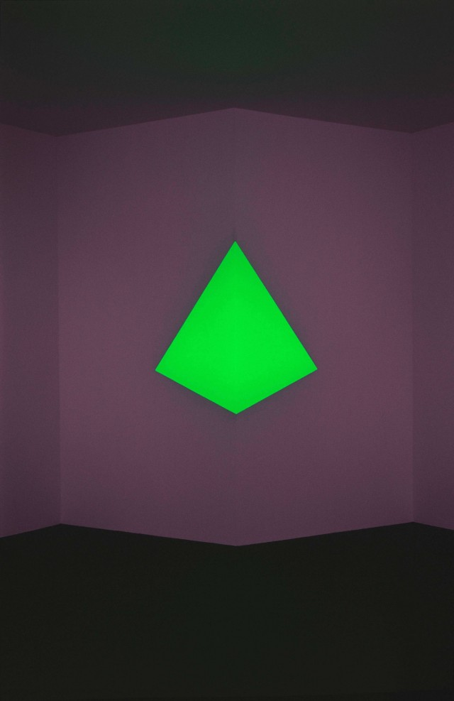James Turrell, Raethro II Green, 1969. Click image for source.