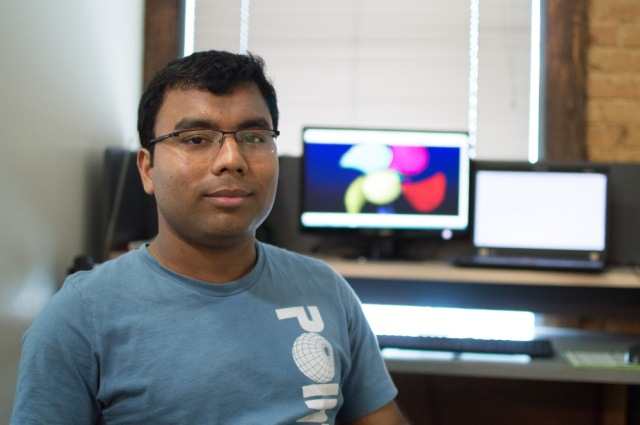 Rajib Roy, Intern on the Sales & Marketing Team.