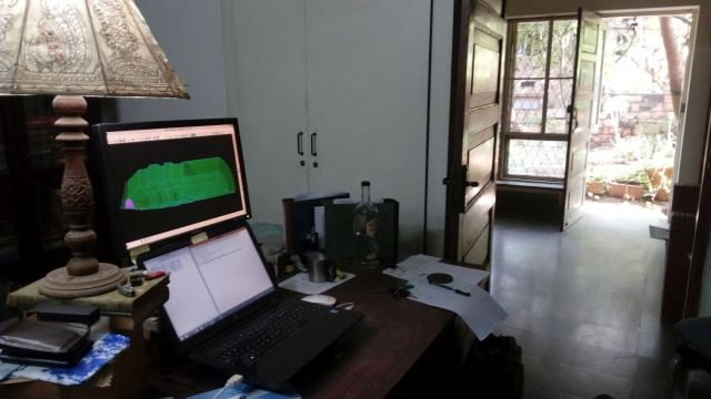Venkatesh's current workspace.