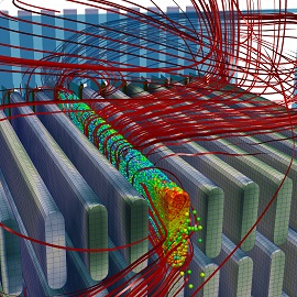 Use of CFD for the design of filtration devices. Image from filtsep.com. Click image for article.