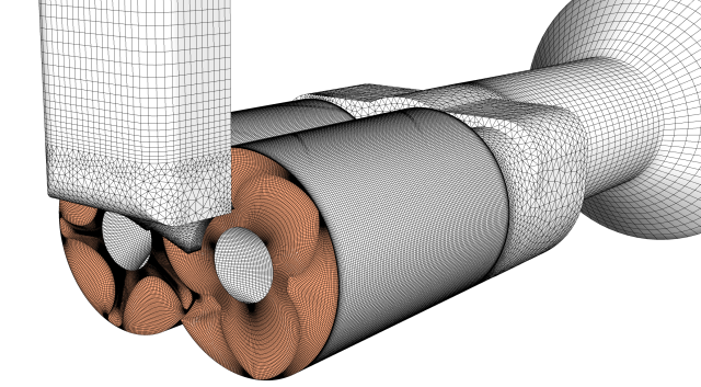 TwinMesh shares this validation study of CFD for a twin screw expander. Image from TwinMesh. Click image for article.