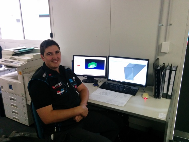 Scott Burch, Design Engineer, Development Series Team Manager, Garry Rogers Motorsport.