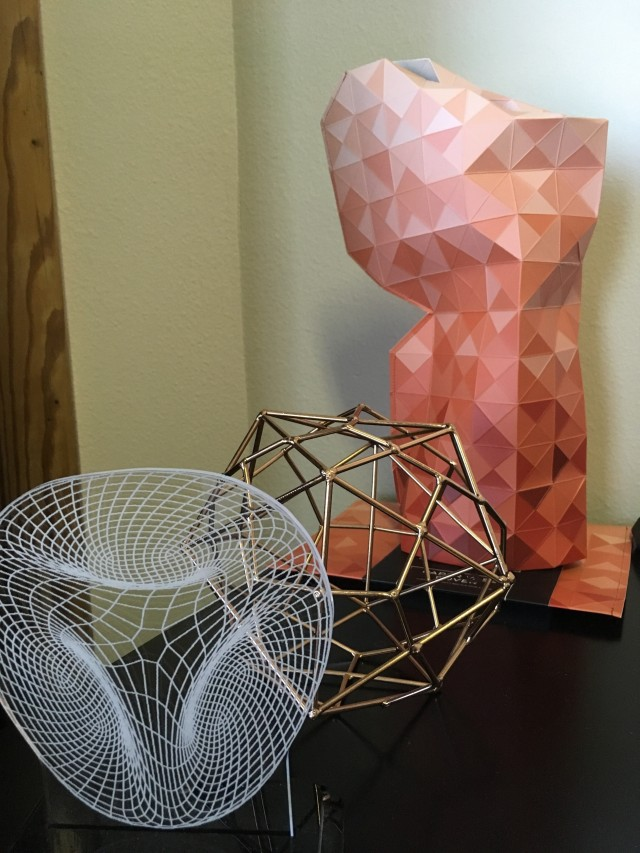 faceted-vase