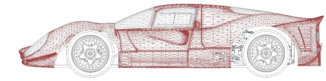 car-render-mesh