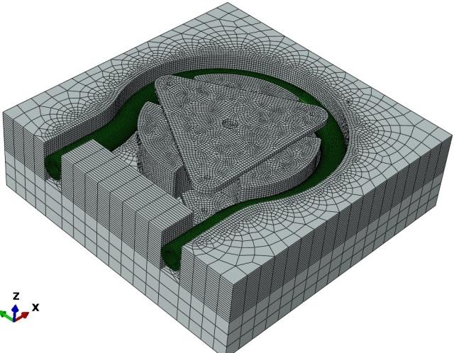 peristaltic-pump-Mesh_abaqus_model